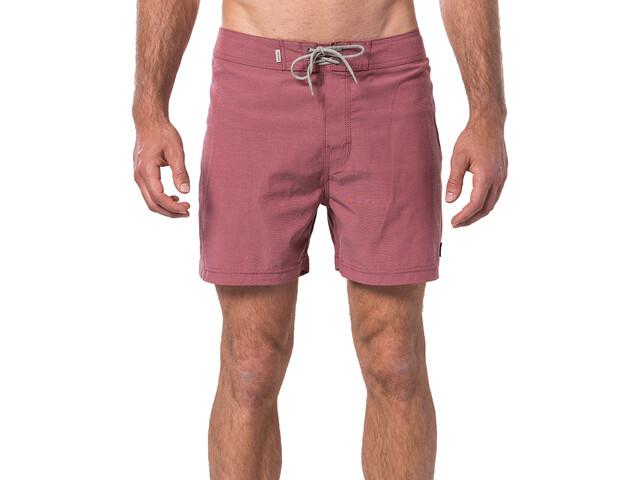 """Rip Curl Retro Natsu 16"""" Szorty plażowe Mężczyźni, red"""